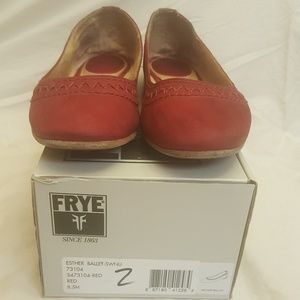 Frye Esther Red Size 8.5
